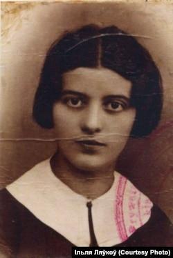 З атэстату выпускніцы Гандлёвай школы ў Смаргонях, 1936 год