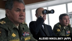 Vladimir Putin və Sergei Shoigu