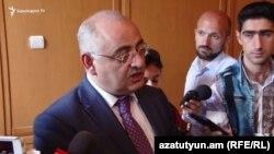 Заместитель председателя Комитета по государственным доходам Рафик Машадян