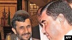 Birdemöxämmätov (u) İran prezidentı Äxmädinecad belän oçraşqanda, 2007