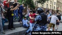 Задержания на акции оппозиции в Москве, 27 июля 2019 года