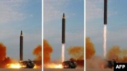 Հյուսիսային Կորեան բալիստիկ հրթիռ է փորձարկում, սեպտեմբեր, 2017թ.
