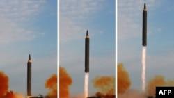 Солтүстік Кореяның құрлықаралық баллистикалық зымыраны.