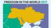Freedom House про карту «без Криму»: це рівень свободи, а не політична належність територій