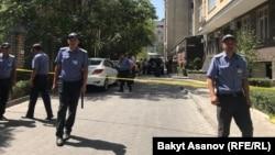 Инцидентот во центарот на Бишкек во кој наводно е нападнат рускиот бзинисмен Гајдуков. 10.08.2018.