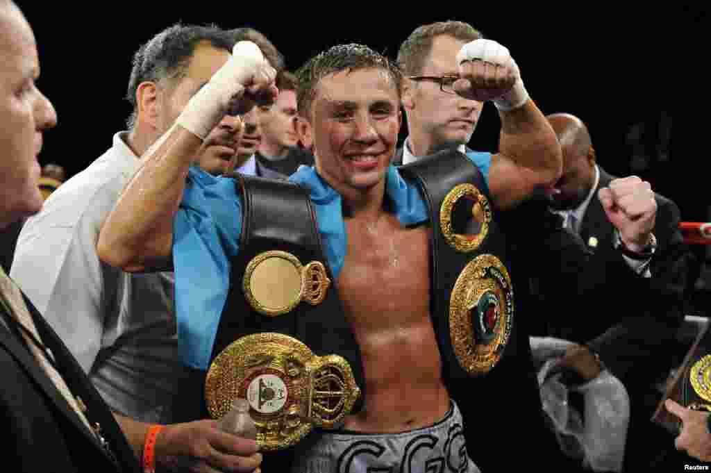 25 из 28 поединков на профессиональном ринге казахстанский боксер завершил досрочно.