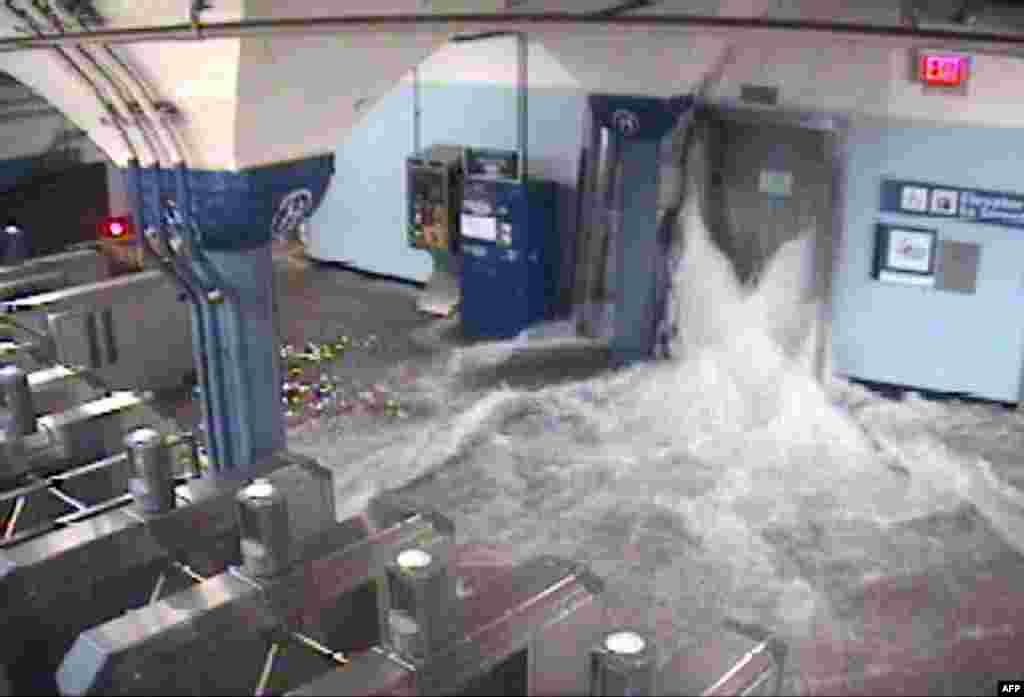 آب اقیانوس در متروی نیوجرسی