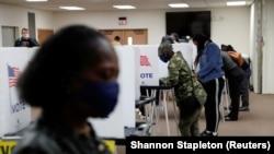 آرشیف، جریان رأیدهی در انتخابات ریاست جمهوری امریکا