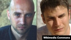 Zaxar Prilepin və Sergey Şarqunov