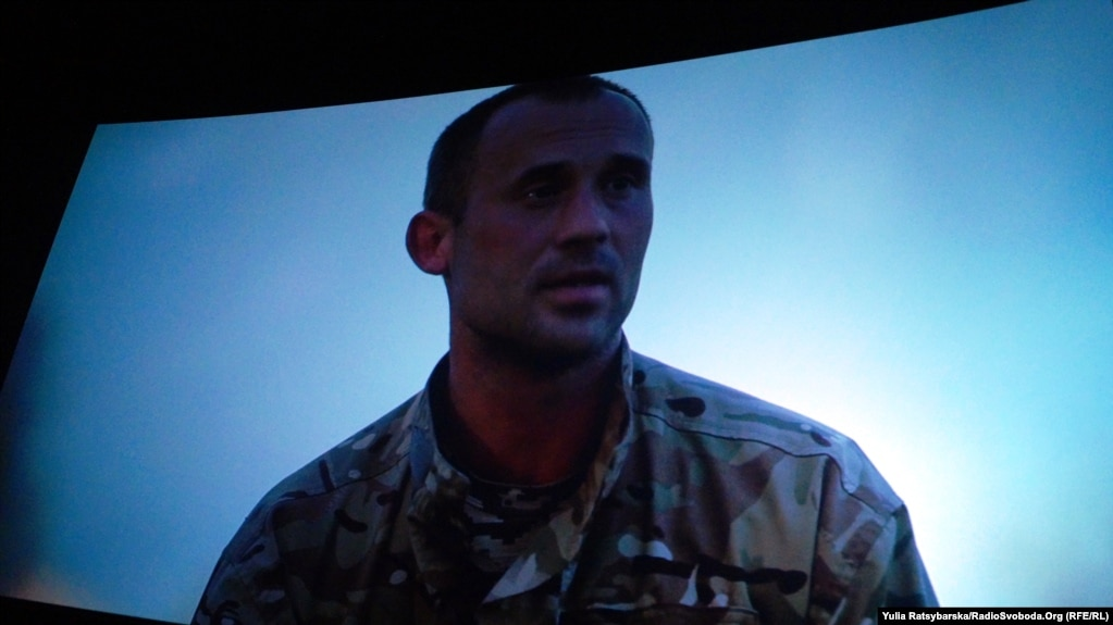 Презентація фільму «Вірю, чекаю, молюся» про полонених і зниклих безвісти бійців на Донбасі в Дніпрі, 10 жовтня 2018 року