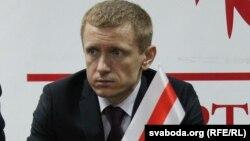 Беларусь оппозициялық Халықтық майдан партиясының жетекшісі Алексей Янукевич.