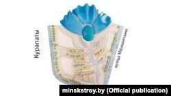 Праект Нацыянальнага выставачнага цэнтру каля Курапатаў
