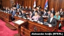 Zakletva Vlade Srbije 27. aprila 2014. godine