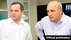Зураб Чіаберашвілі (л) і Іване Мерабішвілі (п)