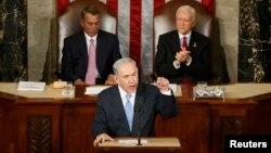 Բենյամին Նեթանյահուն ելույթ է ունենում ԱՄՆ Կոնգրեսում, Վաշինգտոն, 3-ը մարտի, 2015թ․