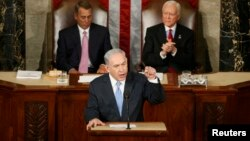 Нетаньяху АКШ Конгрессинде. 3-март, 2015-жыл.