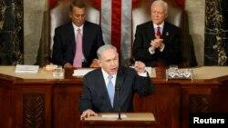 Benjamin Netanyahu ABŞ Konqresində çıxış edib.