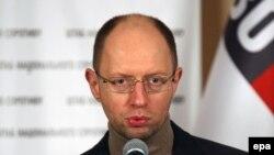 На снимке: Арсений Яценюк