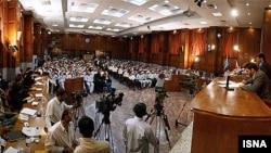 نمایی از سومین جلسه دادگاه متهمان وقایع پس از انتخابات