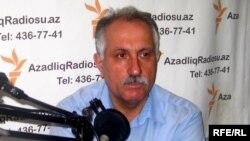 Мехман Алиев в студии РадиоАзадлыг, 5 июля 2010