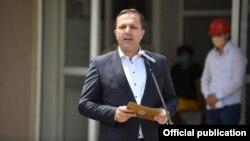 Премиерот Оливер Спасовски