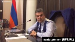 Премьер-министр Армении Карена Карапетян (архив)