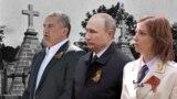 Нові російські очільники Криму не поспішають дбати про пам'ять воїнів Другої світової... (колаж)