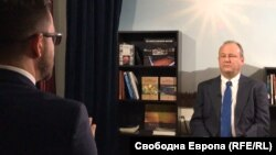 Посланикът на САЩ Ерик Рубин пред Свободна Европа