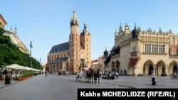 Город Краков, Польша