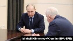 В.Путин и А.Бастрыкин