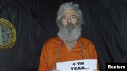 An undated photo of Robert Levinson, a former FBI agent who disappeared in Iran in 2007