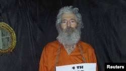 Robert Levinson, a former FBI agent and DEA agent, who disappeared in Iran since 2007, undated