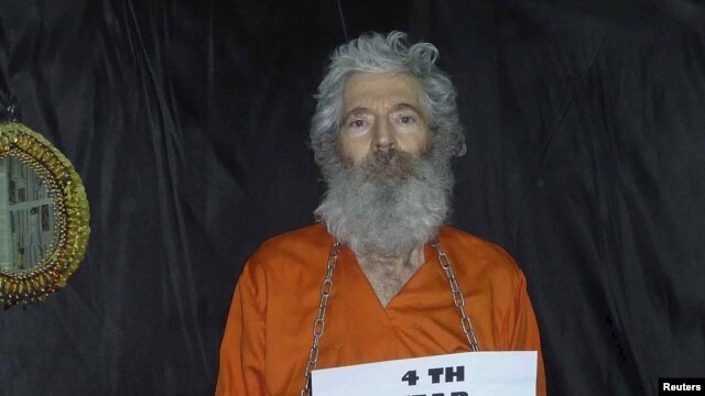 Robert Levinson went missing in 2007. (file photo)