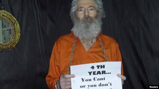 Robert Levinson, a former FBI agent and DEA agent, who disappeared in Iran in 2007, is shown in this undated handout photo released by the Levinson family.