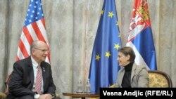 Premijerks Srbije Ana Brnabic i kongresmen Ted Poe