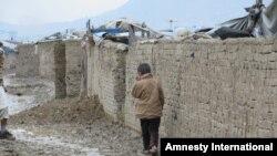 The Chaman-e Babrak settlement in Kabul