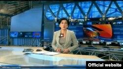 Ведущая программы «Воскресное время» «Первого канала» Росии Ирада Зейналова
