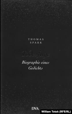 """Moldova, Paul Celan, """"Fuga morţii"""" (coperta volumului, 2020), Book cover"""