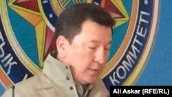 Заместитель председателя комитета национальной безопасности (КНБ) Казахстана Нургали Билисбеков.