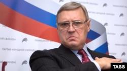 Председатель российской партии ПАРНАС Михаил Касьянов.