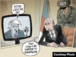 Путин: «Прежде манипулировать ими было сложнее». © Patrick Chappatte