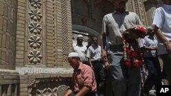 Муслимански верници во Кашгар
