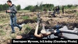 Разливы нефти в Югре