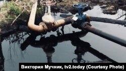 Разливы нефти, иллюстративное фото