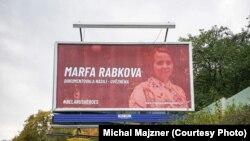 У Празе праходзіць кампанія BelarusHeroes, прысьвечаная беларускім палітвязьням. Марфа Рабкова