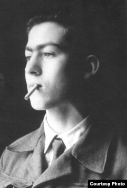 Никита Кривошеин-студент. Москва, 1953