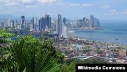 Офшордук аймак катар таанымал Панама салыктары абдан төмөн өлкө. Сүрөттө: борбор Панама шаары.