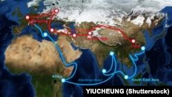 Ruta kineskog 'Pojas i put' projekta