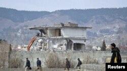 د پاکستان ابټاباد کې هغه کور چې اسامه بن لادن پهکې ووژل شو.