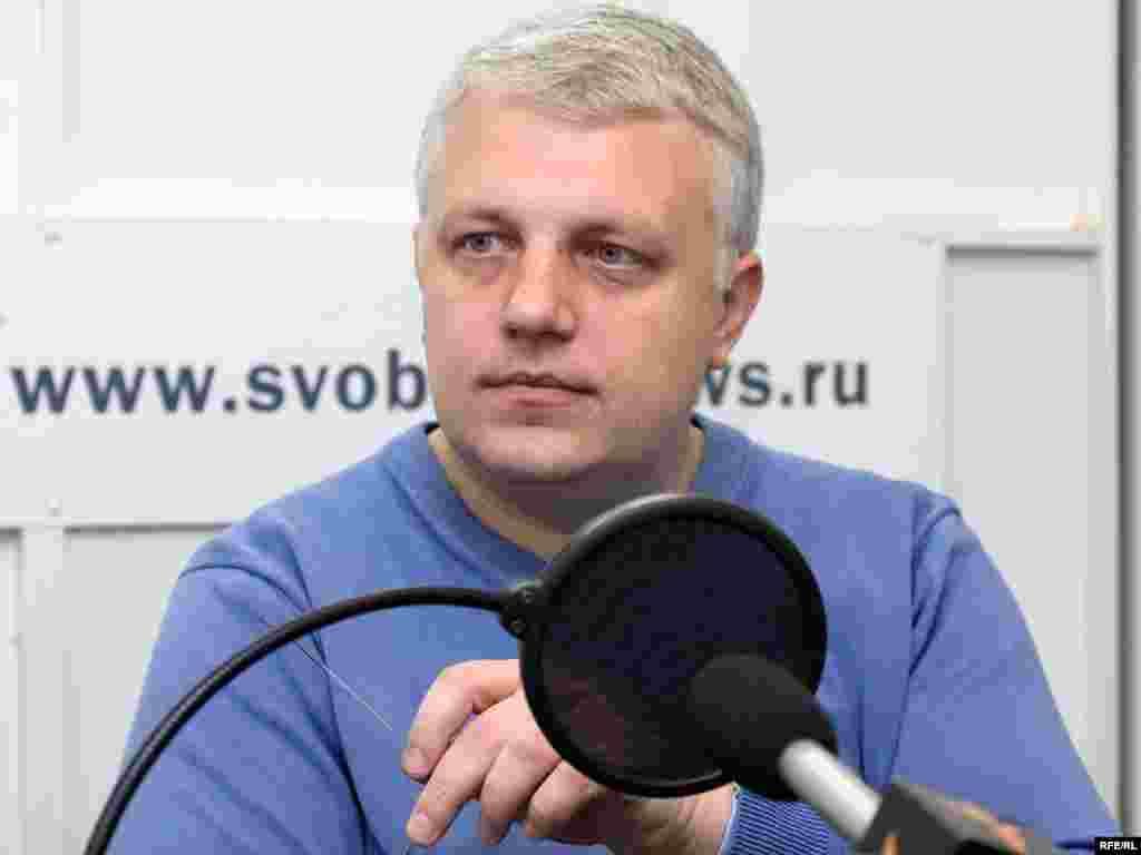 Павел Шереметв студии Радио Свобода, 2009 год